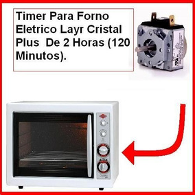 Timer Para Forno Eletrico Layr Cristal Plus Original.
