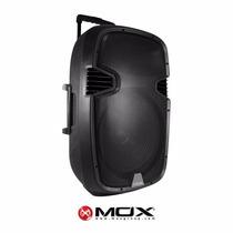 Caixas De Som Ativa /mic S/fio /spk Mox Mo-k412b 12 /fm/blt