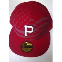 Mlb Pittsburgh Pirates New Era 59 Fifty Size7 1/2 $435 Pesos