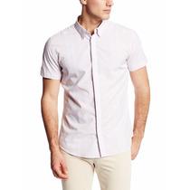 Camisa Calvin Klein Ombre Plaid Slim Fit Talla Xl Original