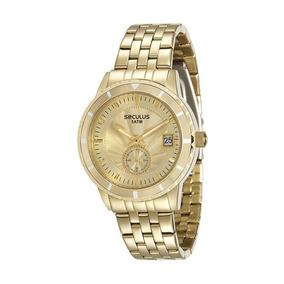 9ab23dd333d Relógio Seculus Feminino Swarovski 13003lpsvda2 - Relógio Masculino ...
