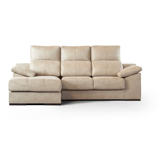 Sillón Sofa Cama 2 Cuerpos Paris + Chaise Lounge - Esquinero