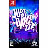 Juego Nintendo Switch Ubisoft Just Dance 2018