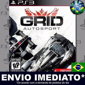 Grid Autosport Ps3 Mídia Digital Psn Jogo Português Promoção