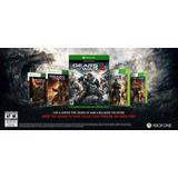 Gears Of War 4 Xbox One Español+4 Juegos ¡¡envío Gratis!!