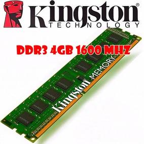 Memorias Ram Kingston Ddr3 4 Gb 1600 Mhz Pc