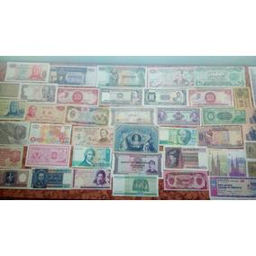 Lote De 30 Billetes Mundiales Y Argentinos De Regalo 12