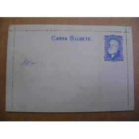 Rf395 - Brasil Império Carta Bilhete Cb-9 100 Réis 1884 Novo