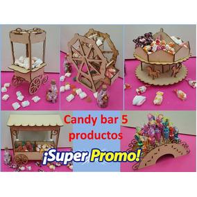 Candy Bar 5 Productos Fibrofacil Envios A Todo El Pais !!