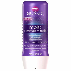 Aussie 3 Minute Miracle Mascara Moist Mascara Tratamento
