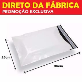 Embalagem Sedex Plástico Correios 35 X 25 100 Unidades