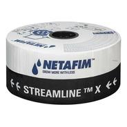 Tubo Gotejador Netafim Streamline X (30/30 Cm) - 1000 Metros