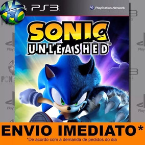 Sonic Unleashed Código Ps3 Envio Agora!!