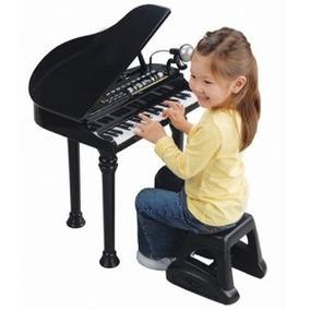 Piano De Cola Electrónico W / Micrófono Y Más