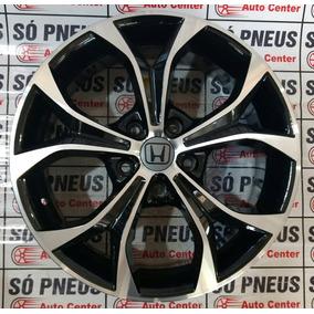 Jogo Roda Aro 17 R29 5x114,3 Honda Civic Tala 7 Frete Gratis