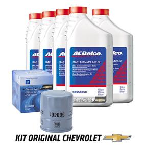 Troca Oleo Motor 15w40 Sl Semi Sintetico Acdelco Com Filtro