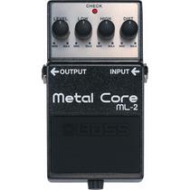 Pedal Boss Metal Core Ml2 + Brinde + Nfe + Garantia