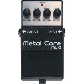 Pedal Boss Metal Core Ml2 + Brinde + Nfe + Garantia