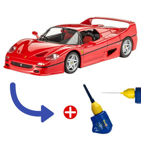 Kit Miniatura Montar Ferrari F 50 1:24 + Cola Revell 12,5 G