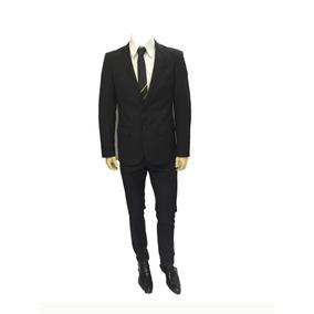b2f3a024871f2 Traje Hombre 44 - Vestuario y Calzado Negro en Mercado Libre Chile