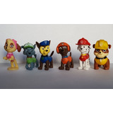 Patrulla Canina Paw Patrol Set X 6 Personajes Parados Loose
