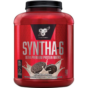 Syntha 6 Bsn 48 Serv 5lb Cookies And Cream Proteinas