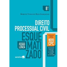 Direito Processual Civil Esquematizado - 8ª Ed. 2017