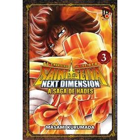 Mangá Next Dimension Hades N 3 Cavaleiros Do Zodíaco Seiya