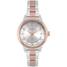c907bb36aae Relógio Technos 2105af 5k De Luxo - Relógios De Pulso no Mercado ...