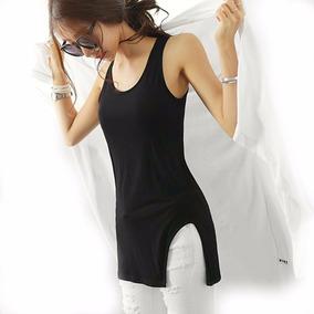 Remera Mujer Musculosa Tajo Verano Luba By Luna