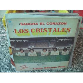 Los Cristales Sangra El Corazon Vinilo Lp Cumbia 1979 Ex