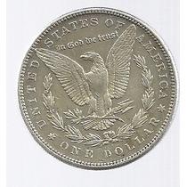 Usa 1 Dolar Morgan 1884 Plata