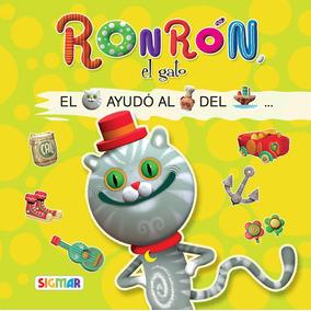 Ronrón, El Gato Colección Leo Con Figuras