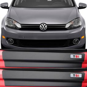 Kit Adesivo Soleira Premium Resinada Volkswagen Golf Tsi