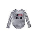 Blusa Infantil Feminina Hering Kids Listrada 5cj11a10