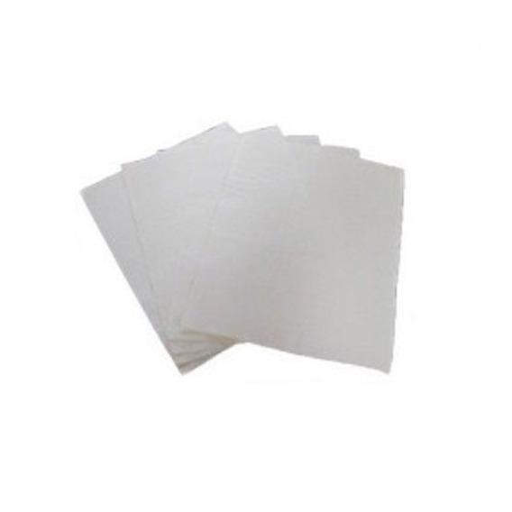 5 Hojas Papel Flash Premium Color Blanco / Alberico Magic