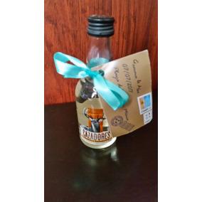 Botellita De Tequila Cazadores Adornada Y Personalizada