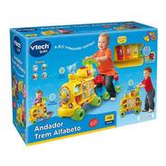 Andador Infantil Trem Alfabeto Som E Luz 80-076620 Vtech