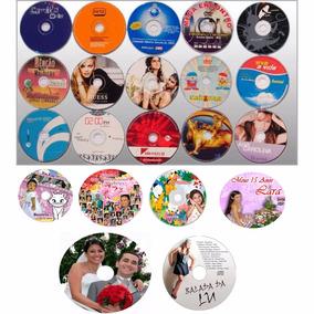 Impressão 50 Cds Ou Dvds Personalizados