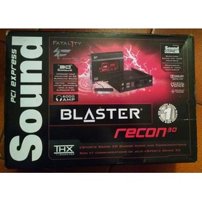 Tarjeta De Sonido Sound Blaster Recon 3d Fatal1ty Champion