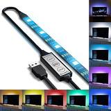0e2dd92e75157 Qili Usb Led Tv Retroiluminación 5v Multi Color Que Cambia L