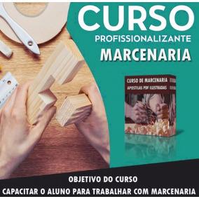 Curso De Marcenaria De Móveis - 10 Dvd