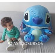 Pelúcia Lilo Sttich Boneco Azul Presente Brinquedo Crianças
