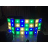 Cabina Dj Iluminada Led 32 Pixeles