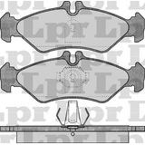 Pastillas De Freno Lpr Mercedes Benz Viano 98/.... Sistema A