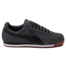 Zapatillas Puma Roma Suede Grey / Bajo Pedido_exkarg