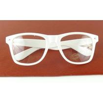 Armação Oculos De Grau Quadrada Branco Leite Moderna A755
