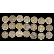 30 Monedas De Plata 1950-51-52-53