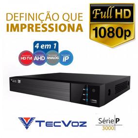 Dvr Stand Alone Tecvoz Tw P3016 16 Ch 1080p Flex