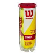 Bolas De Tenis Wilson Champioship X 3 Extra Duty